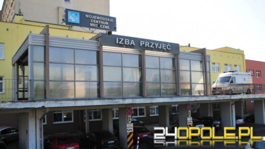 Dwulatek zmarł na izbie przyjęć opolskiego WCM