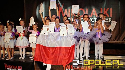 Opolscy tancerze z pucharami i medalami Mistrzostw Świata!