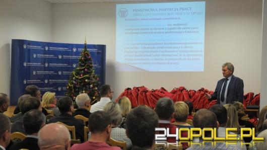 Okręgowy Inspektorat Pracy podsumował programy prewencyjne