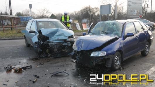 18-latka spowodowała wypadek na ul. Marka z Jemielnicy