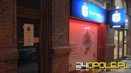 Napad na bank na Placu Piłsudskiego w Opolu