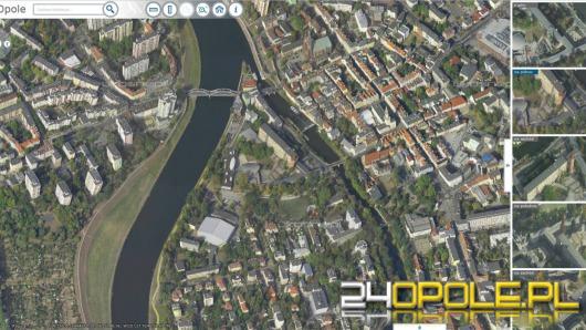 Nowa Mapa Opola Online Miasto Widac Z Czterech Stron Swiata