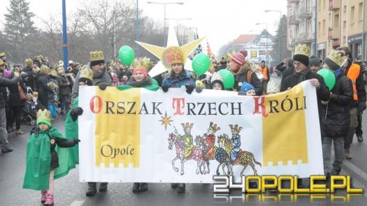 Orszak Trzech Króli przeszedł ulicami Opola