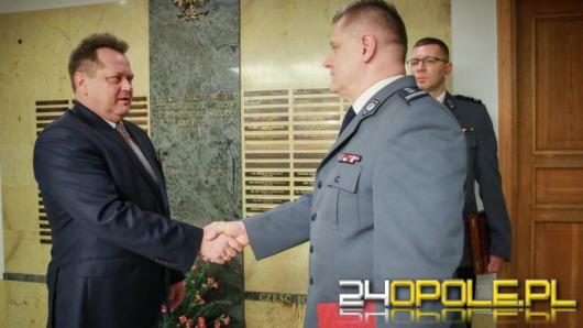 Inspektor Jan Lach rozpoczął służbę w Komendzie Głównej Policji