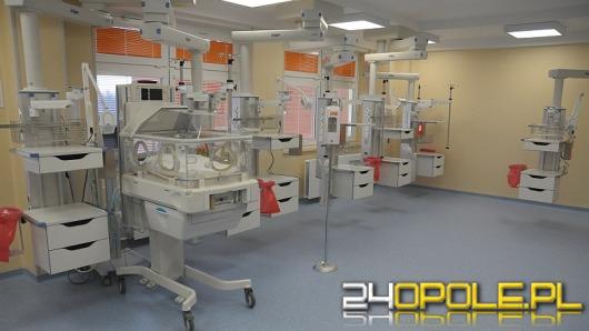 Dziecięcy oddział intensywnej terapii w WCM otwarty po remoncie