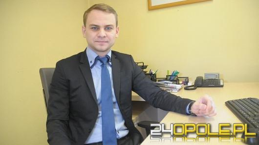 Jakie plany ma najmłodszy wiceprezydent w historii Opola?