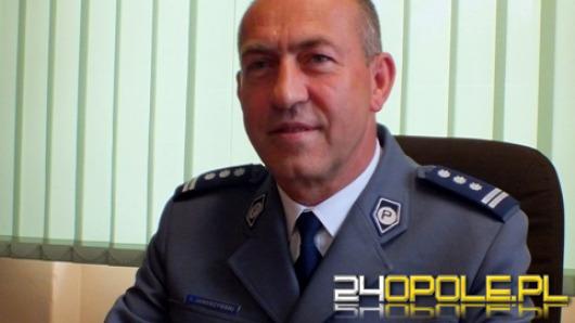 Komendant Miejski Policji w Opolu odchodzi na emeryturę