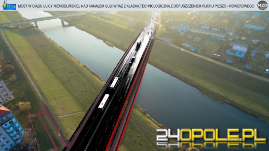 W marcu ma ruszyć budowa nowego mostu w ciągu ul. Niemodlińskiej