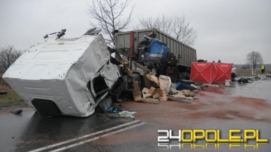 Tragiczny wypadek na drodze krajowej nr 45 pod Krapkowicami