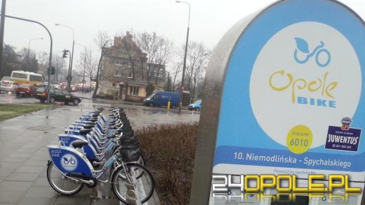 Na ulice Opola wróciły miejskie rowery