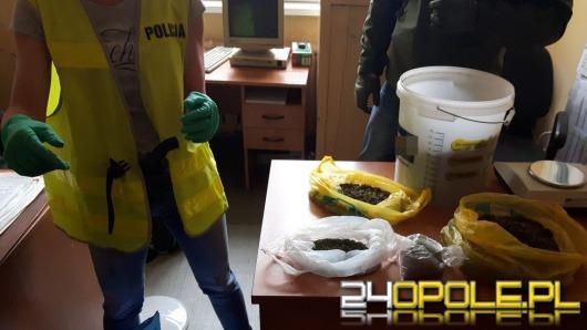 Akcja opolskiego CBŚP. Zatrzymano 5 osób, zabezpieczono 7 kg narkotyków.