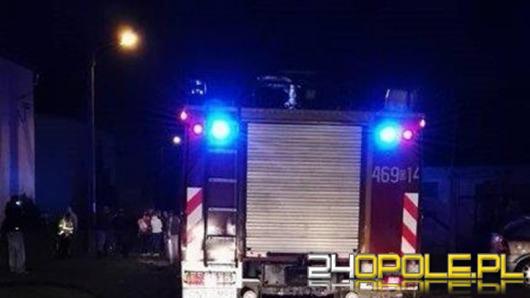 Pocisk eksplodował w garażu w Biechowie