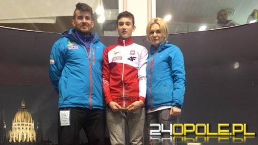 Mateusz Krzemiński najlepszy na Pucharze Europy w short-tracku
