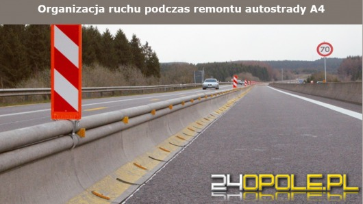 Po świętach ruszy remont A4 między Opolem i Brzegiem