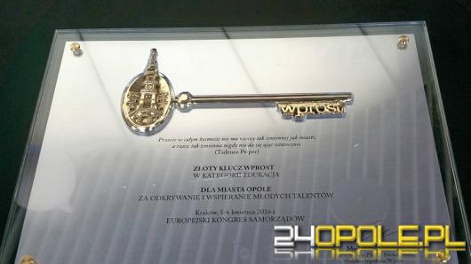 Miasto Opole nagrodzone Złotym Kluczem Wprost