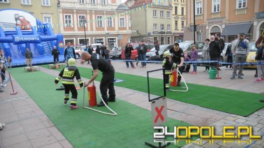 Opolski rynek był dziś areną strażackich zmagań