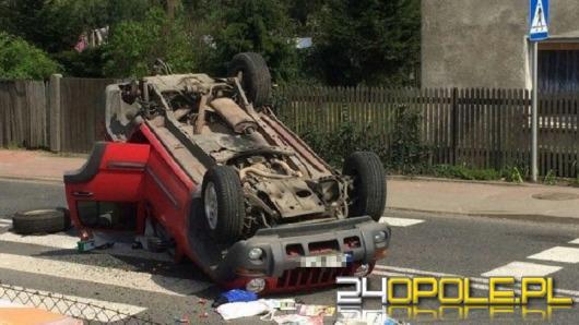 Zderzenie dwóch samochodów w Lubszy. Obaj kierowcy w szpitalu.
