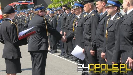 Opolski strażak nagrodzony Brązowym Krzyżem Zasługi