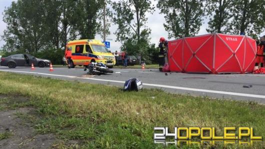 28-letni motocyklista zginął w wypadku na ul. Głogowskiej