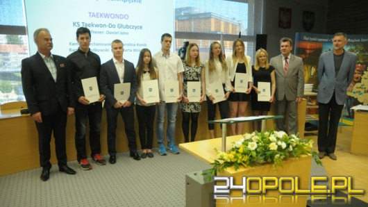 Marszałek nagrodził najlepszych sportowców z Opolszczyzny