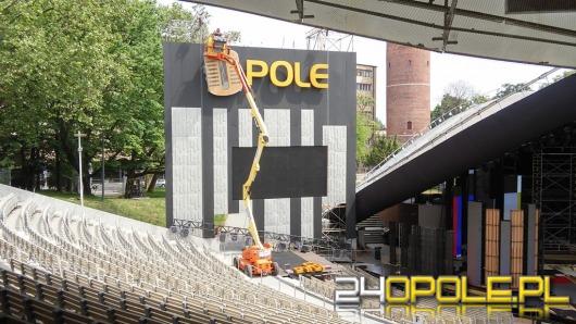 Opolski amfiteatr już prawie gotowy na festiwal