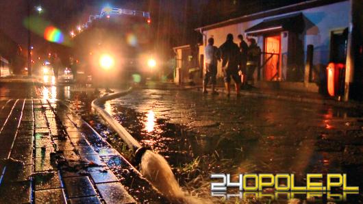 Ulewy na Opolszczyźnie, ponad 60 interwencji strażaków