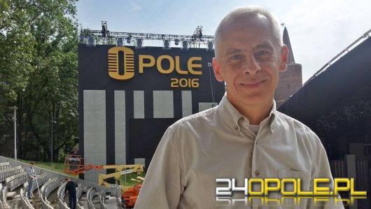 Rafał Poliwoda: Festiwal to ogromne przedsięwzięcie logistyczne.