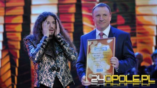 Michał Szpak z Grand Prix Publiczności Opole 2016