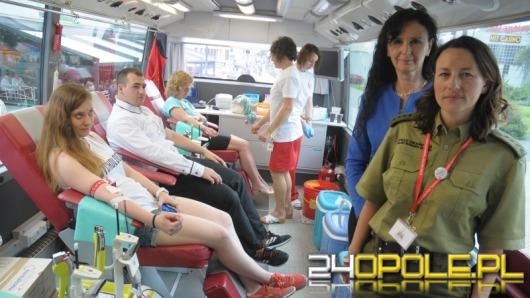 Straż Graniczna wsparła w Opolu Światowy Dzień Krwiodawcy