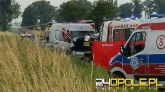 Trzy osoby zginęły w wypadku pod Głogówkiem