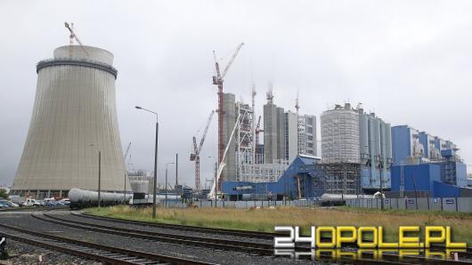 Półmetek rozbudowy Elektrowni Opole zakłócony przez protesty