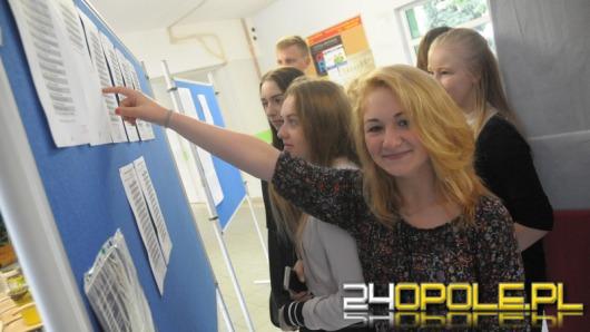 Opolskie szkoły ponadgimnazjalne ogłosiły dziś listy rekrutacyjne
