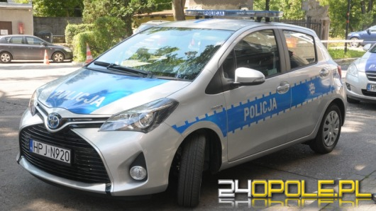 Opolscy policjanci mają samochód z napędem hybrydowym