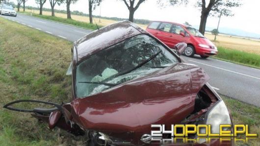 Trzy osoby ranne w wypadku pod Starym Paczkowem