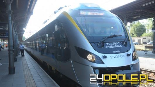 Nowoczesny pociąg elektryczny Impuls rozpoczął jazdy testowe