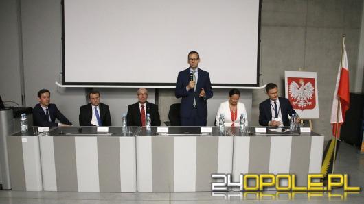 Wicepremier Mateusz Morawiecki spotkał się z opolskimi przedsiębiorcami