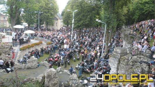 5 tysięcy pielgrzymów na motocyklach przyjechało na Górę Św. Anny