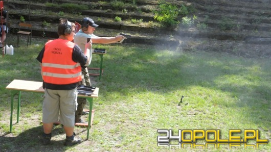 OKS Husarz zorganizował Mistrzostwa Opolszczyzny w strzelectwie dynamicznym