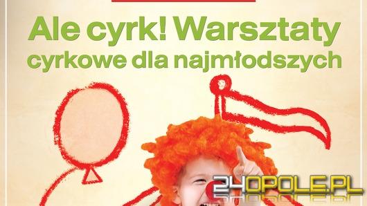 Ale Cyrk! Warsztaty cyrkowe dla najmłodszych w Solaris Center.