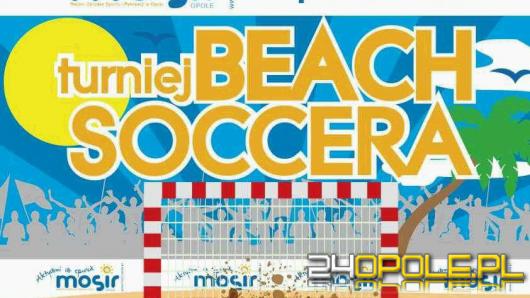 Piłkarskie potyczki na piachu - dołącz do turnieju Beach Soccera.