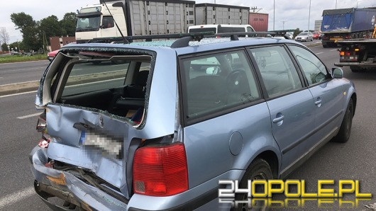 Pięć osób w szpitalu po zderzeniu na obwodnicy Opola