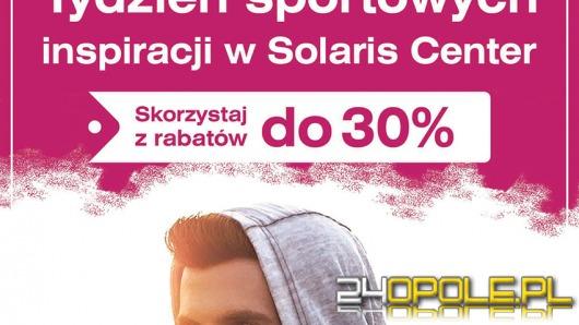 Tydzień Sportowych Inspiracji - promocje i konkursy w Solaris Center