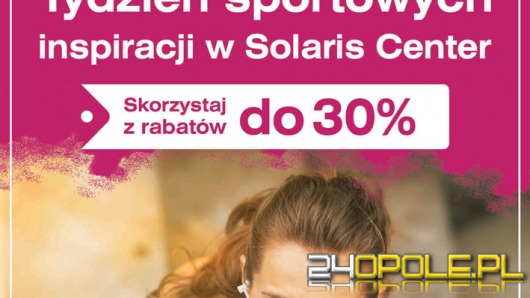 Tydzień Sportowych Inspiracji - znajdź motywację do ćwiczeń w Solaris Center
