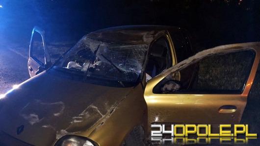 Pijany kierowca dachował na ul. Kępskiej