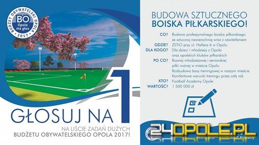 """Głosuj na numer """"1"""" w Budżecie Obywatelskim miasta Opola!"""