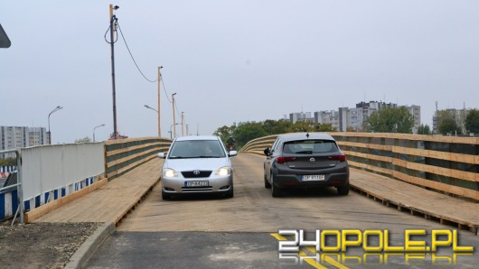 Most na ul. Niemodlińskiej zamknięty. Od dziś jeździmy kładką.