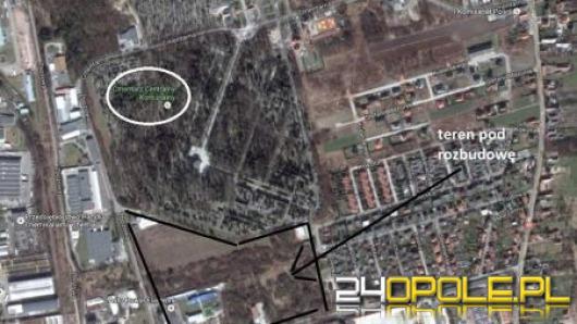 Rusza rozbudowa cmentarza na Półwsi