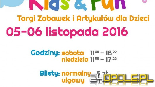 Targi Kids & Fun już w weekend w CWK