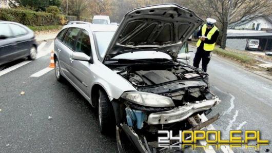 Wypadek w Nysie, jedna osoba ranna
