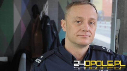 Podinsp. Maciej Milewski - rozsądek, sprawne auto i elementy odblaskowe to niezbędnik na drodze